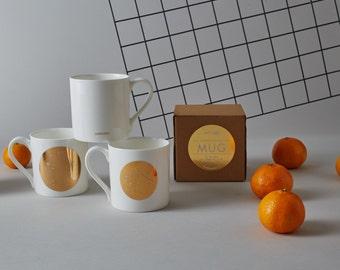 Gold Constellation Mug