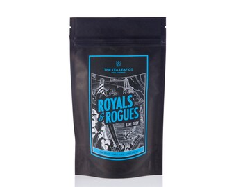 Royals & Rogues Earl Grey Tea, hand rolled, single estate from Nagaland