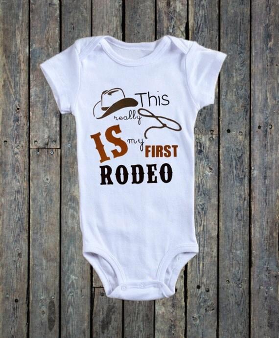 Cowboy Theme Baby Boy Onesie 174 Country Theme By