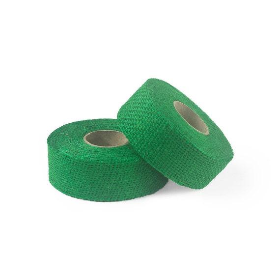 8oz green burlap ribbon roll 10 yards long 1 5 and for Green burlap ribbon