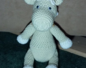 Crochet Palomino Horse