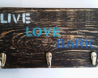 Dog Leash Hanger - Live Love Bark