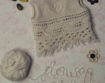 Flower Child Knit Vest