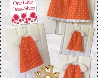 Peasant Dress - Size 6-12 Months