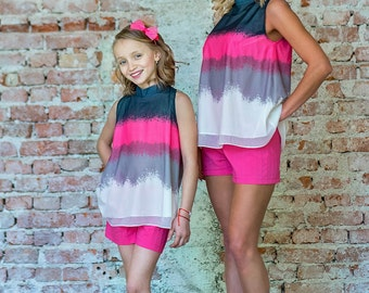 Children's tunic in pink