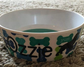 Dog Dish, Personalized - Small