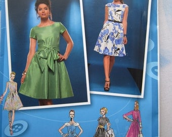 Simplicity 2444 Project Runway Dress Sewing Pattern 12-20