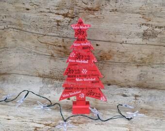 Christmas Decoration, Christmas Tree Christmas Ornament, Tree Ornament, Wooden Christmas Tree, Christmas Mantel Decor, Wooden Tree,
