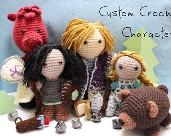 Custom D&D Character Dolls