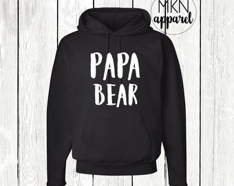 Papa Bear Shirt, Papa Bear Hoodie, Papa Bear Sweatshirt, Dad Gift, Father's Day Gift