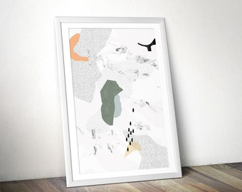 Instant download print #3 (abstract minimal style)