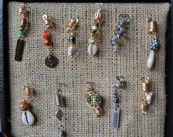 Assorted Dread Lock Jewelry