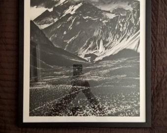 L'Aconcagua 50x70 black frame 1/25