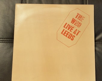 The Who - Live at Leeds LP vinyl