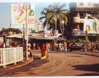 Bombay India Bollywood Billboards (1975) 8x12 Kodachrome Print