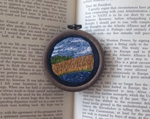 Amber Fields Hand Embroidery