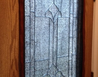 Front or Back Door Half Window Shade Curtain