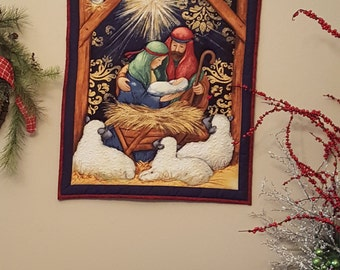 Nativity Scene Wall Hanging