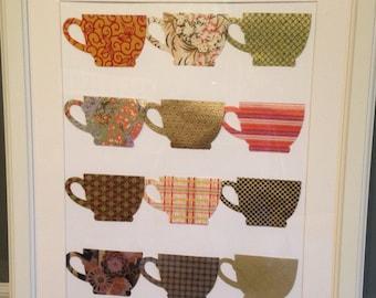 Teacups Art Print 16x20