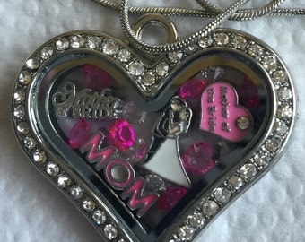Mother of the Bride Locket Necklace