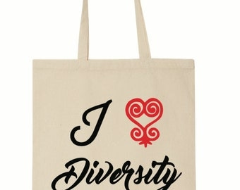 I Love Diversity (Sankofa) - Red