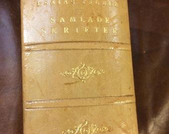 Samlade Skrifter, Nationalupplaga, Andra Bandet, by Esaias Tegner, 1923, Swedish version.