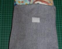 Pirate denim Nappy wipes storage diaper bag