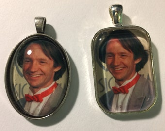 Two Peter Tork Photo Pendants