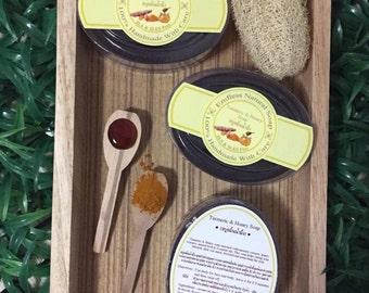 turmeric&honey soap,turmeric soap,natural soap,Thai soap,herb soap,honey soap,spa soap,thai herb soap