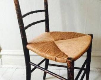turn of the century children's chair