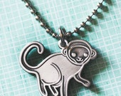 Monkey Necklace Year of the Monkey Necklace Year of the Monkey Jewelry Chinese Zodiac Jewelry 2016 Lunar New Year Necklace