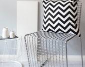 Monochrome Zig Zag Cushion