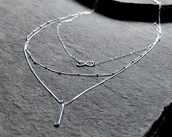 3-in-1 Layered Necklace Set