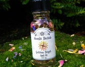 Goddess Brigid Spell Oil - Faerie Magick, Abundance, Purity, Fertility, Illumination, Justice, Renewal, Awakening the Fire Within, Blessing
