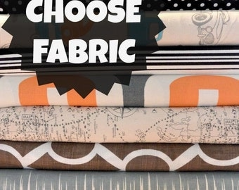 Dog Bed COVER by Bow Wow Beds, Pet Duvets, Custom Dog Beds, Durable Duck Canvas, Pet Name Personalization Extra