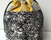 Knitting Project Bag Drawstring Small