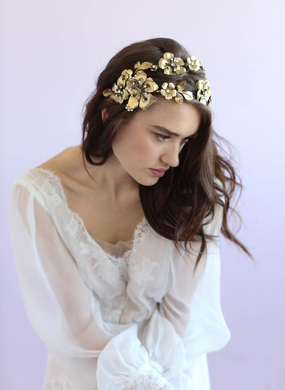 flower headbands for weddings bridal headband dogwood flower headband style 644 4196