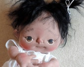 Posey a One of a Kind Soft Sculpture Baby Doll by BeBe Babies