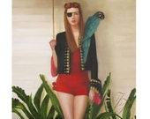 Mathilda The Red. Art Print
