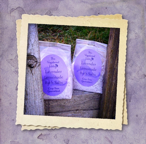 lavender lemonade bath salts