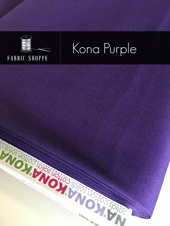 Kona cotton solid quilt fabric, Kona PURPLE 1301, purple fabric ... : solid quilting fabric - Adamdwight.com