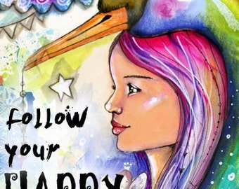 Follow Your Happy -  Self Study Mini Class - Online Download (without DVD)