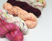 Limited Edition Mini Skein Set - Cupid Can Kiss My A** - Valentines Day - 6 Mini Skeins