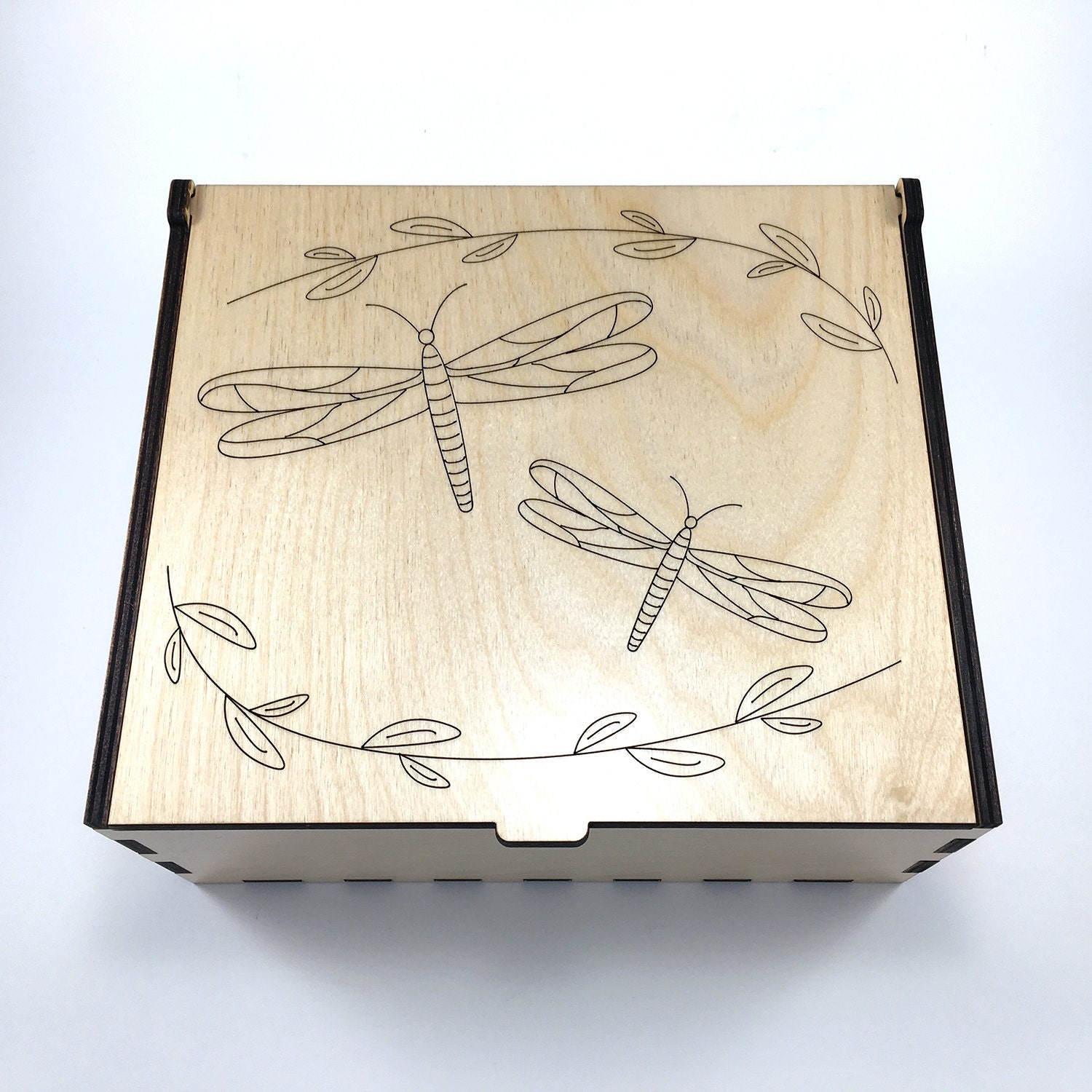 Scrapbook paper carrying case - Dragonflies Essential Oil Box Medium Box Aromatherapy Storage Box Essential Oil Case Aromatherapy Oil Organizer Essential Oil Display