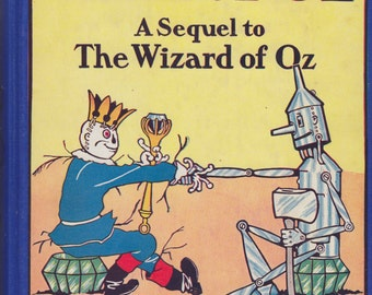 The Land of Oz by L. Frank Baum 1939