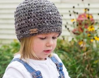 Hand Spun Wool Child's Beanie