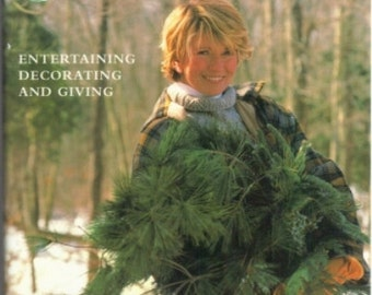 Martha Stewart's Christmas;   Entertaining Decorating and Giving