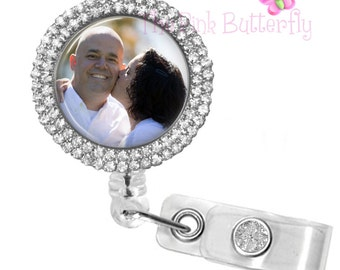 Custom Photo ID Badge Reel