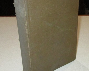 1923 alternative diet and health reference Raw Food and Health