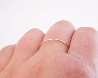 14k Gold Filled Stacking Ring